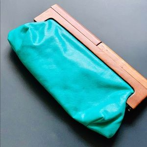 Cute Turquoise Clutch
